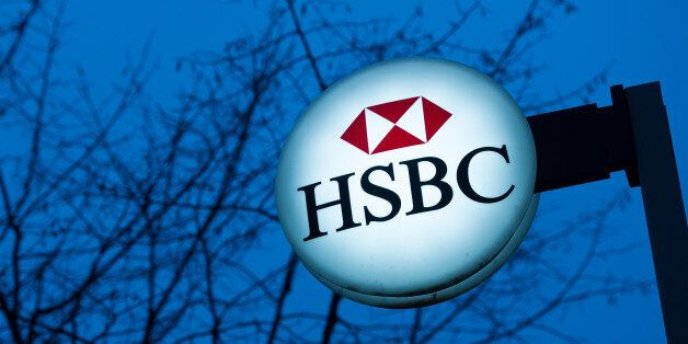 The logotype of the British bank HSBC is pictured in Paris, France, February 9, 2015. Banking giant HSBC...