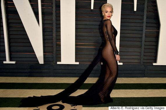 Rita Ora Forgets Her Underwear In Uber-Revealing Dress At Vanity Fair Oscars After Party
