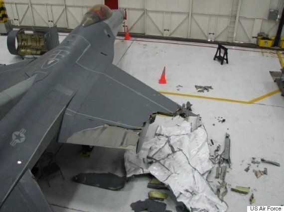F-16 Pilot Loses Half Of A Wing, Makes Incredible