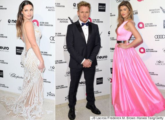 Oscars 2015: Kelly Brook, Gordon Ramsay And Amy Willerton Somehow Landed Invites To Academy Awards Parties
