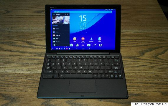 Sony Xperia Z4 Tablet Hands-On Review: The 2K Tablet That Thinks It's A