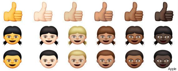 Apple Launches Racially Diverse Emoji With New iOS