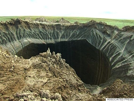Mystery As Dozens Of Giant Craters Open In Siberia's 'End Of World'