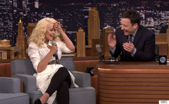Christina Aguilera Does Unbelievably Good Britney Spears Impression On 'The Tonight Show With Jimmy Fallon'