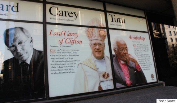 Former Archbishop Of Canterbury Lord Carey 'To Be Removed' From KCL Windows Over Gay Marriage