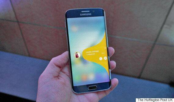The Samsung Galaxy S6 Edge Is A 2K Curved Screen Rival For The iPhone