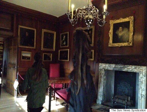 Ghost Of The Grey Lady Of Hampton Court Palace