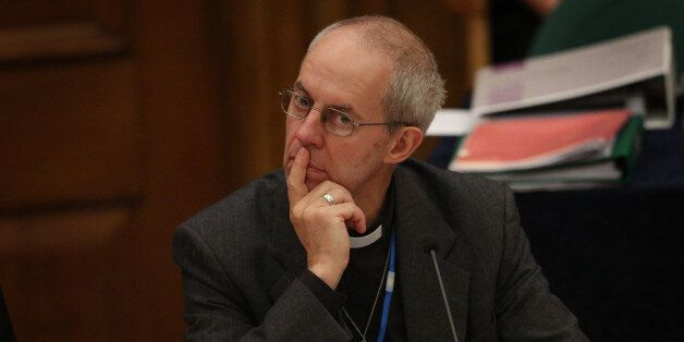 Archbishop Justin Welby said he