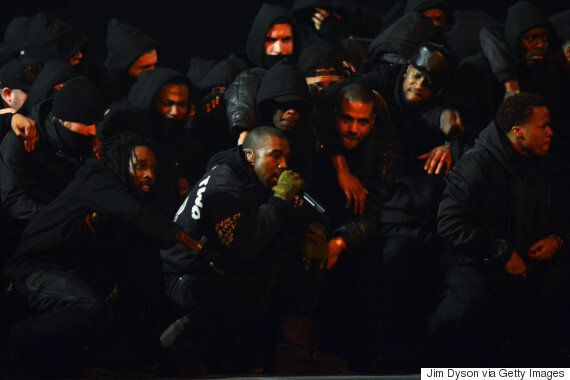 Brit Awards 2015: Kanye West's 'All Day' Performance Attracts Over 100 Complaints To Ofcom After ITV...