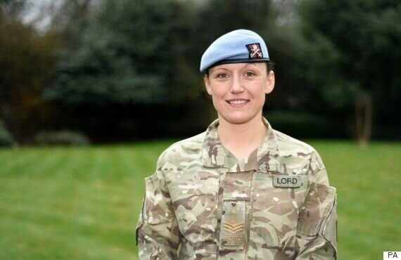 Female Soldier Kate Lord Awarded Queen's Medal For Battling The Misogyny Of Afghanistan