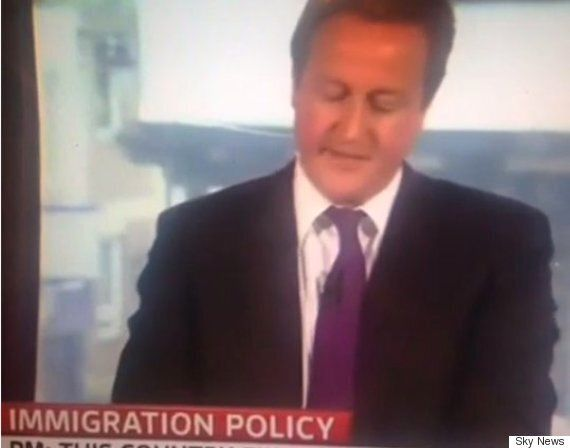 Watch The Immigration Speech David Cameron May Wish He Never Made, As Government Breaks Its