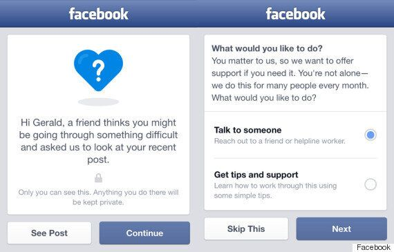 Facebook Rolls Out Suicide Prevention
