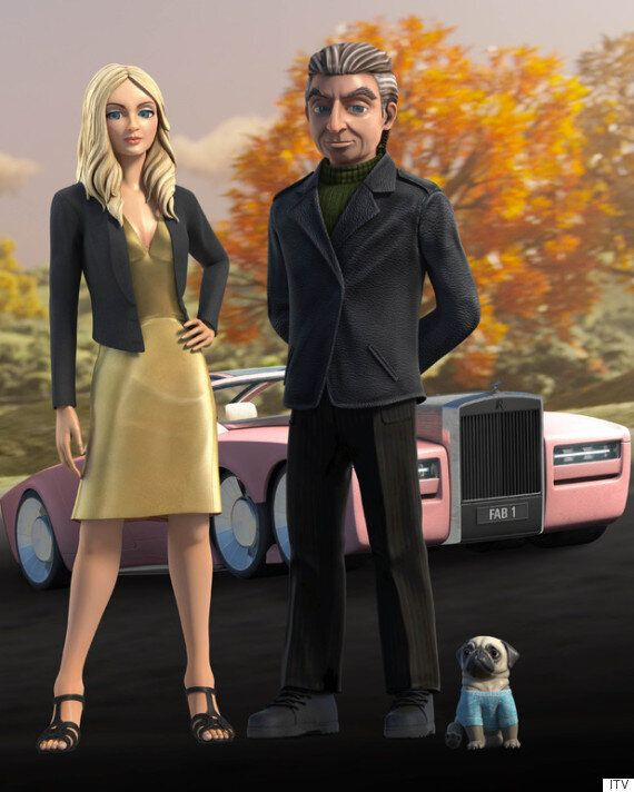 'Thunderbirds Are Go!': Lady Penelope Gets A Modern-Day Makeover (And A Cute Pet Pug) As More Photos...