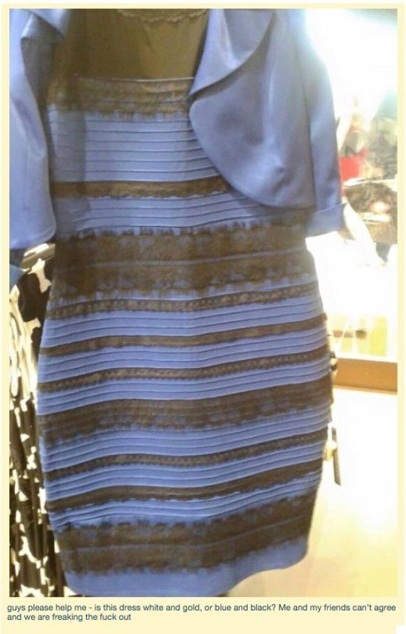 White And Gold Dress Is Leading Blue And Black Dress In #TheDress