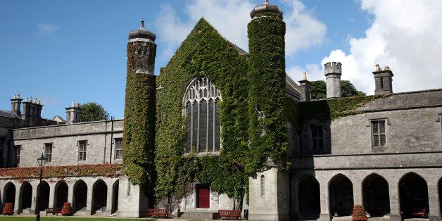 A general view of the National University of Ireland,