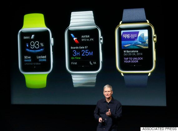 Tim Cook Says The Apple Watch Will Replace Your Car