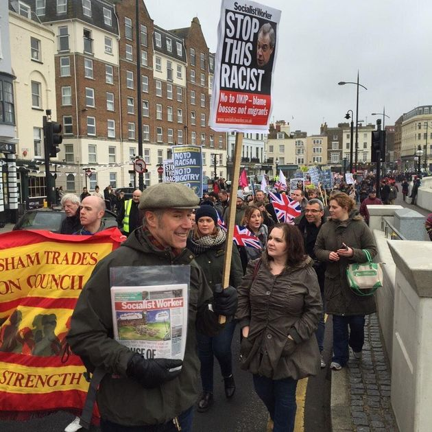 Anti-Ukip Protesters March On Party's Margate Conference, Clash With