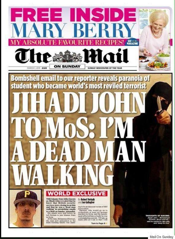 Jihadi John, UK ISIS Murderer, 'Emailed Mail On Sunday Journalist About Security