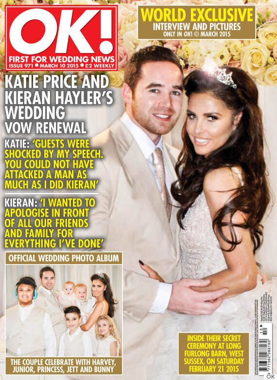 Katie Price Reveals She 'Attacked' Husband Kieran Hayler During Her Speech As The Couple Renewed Their...