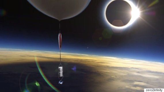 Company Will Film Eclipse From Space Using GoPro