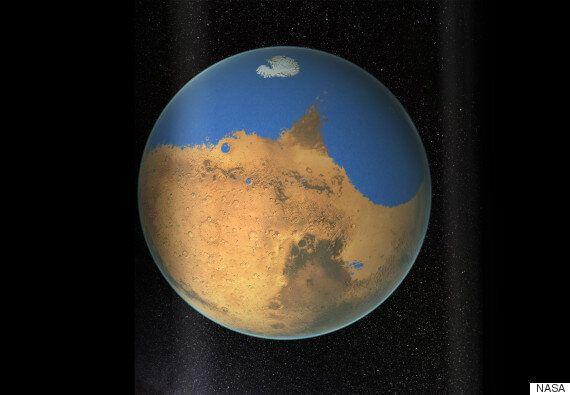 Martian Ocean 'Held More Water Than The