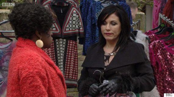 'EastEnders': Is That Kim Kardashian's VMAs Dress On Kat Slater's Market Stall?