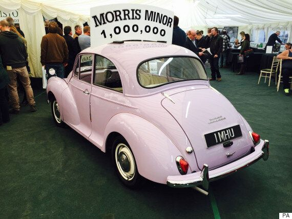 One Millionth Morris Minor Sells For More Than