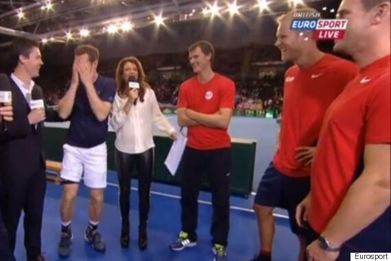 Andy Murray Gets Davis Cup Teammate Dom Inglot In Trouble With His