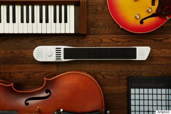 The Artiphon Instument 1 Can Be A Violin, Guitar And Piano In