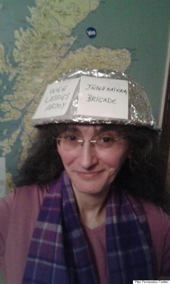 David Hamilton's 'Sexist' Comments Sparks Tin Hat Selfies In Support Of Nicola