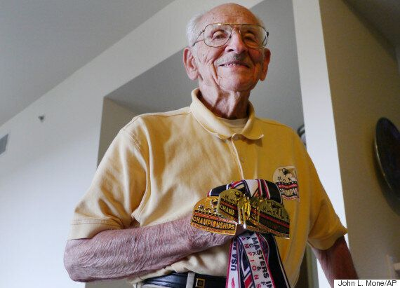 Dr. Charles Eugster Breaks World Record For Over-95s