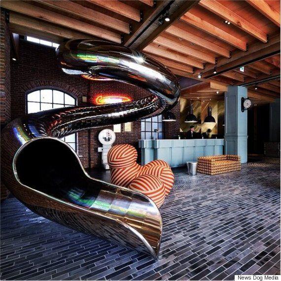 Hotel Installs Giant 30-Metre
