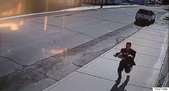 Shocking Moment Boy And Girl Stop Their Baby Brother Being Kidnapped Caught On