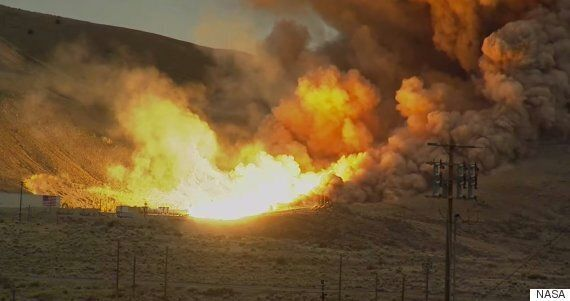 NASA Just Tested The Most Powerful Rocket Booster In