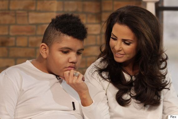 Katie Price's Son Harvey Cheekily Calls His Mum 'Babe' During Heartwarming 'This Morning'