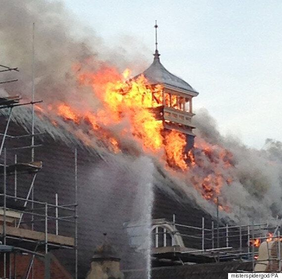 Battersea Arts Centre Struck By Fire That It Took 80 Firefighters To