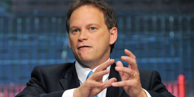 Grant Shapps, Shadow Housing Minister, speaks on the second day of the Conservative Party Conference...