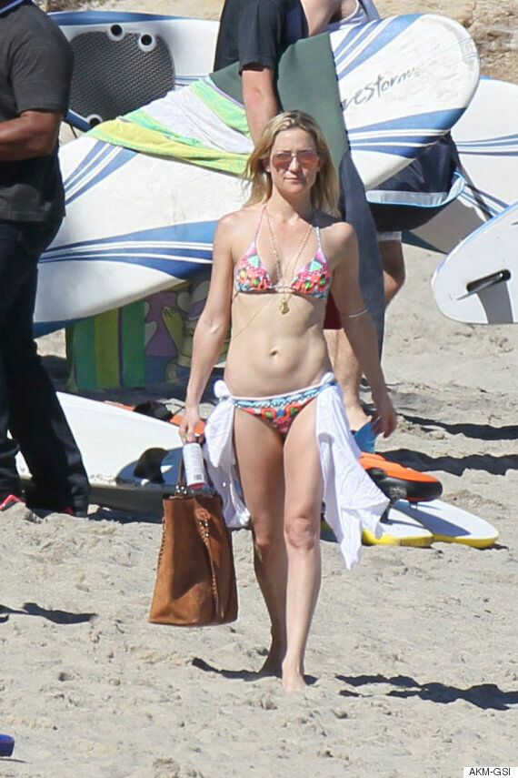 Chris Martin And Kate Hudson Spotted Enjoying A Day At The Beach Together In Malibu