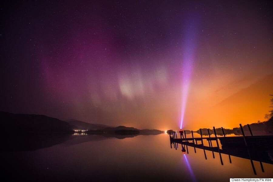 Northern Lights Pictures Flood Twitter As North England Treated To Aurora