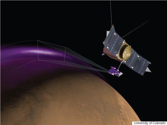 Mars 'Christmas Lights' Aurora Spotted By NASA's Maven