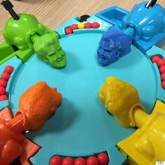 This 3D Printed Jeremy Clarkson Hungry Hippo Game Is Now A