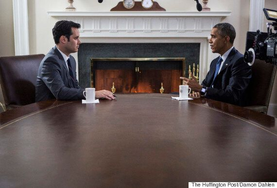 Huffington Post Meets President Barack Obama: On Netanyahu, Iran, Ebola And Getting Enough