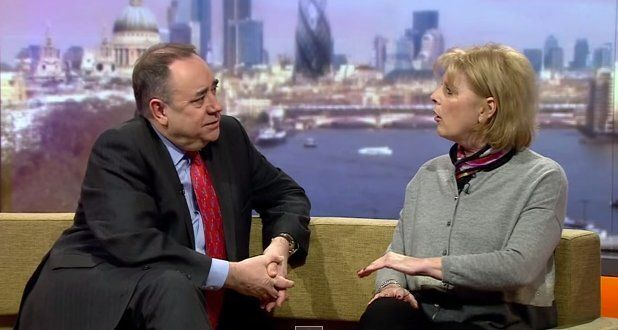 Alex Salmond's Plan To Work With Labour 'Terrifying,' Says Defence Minister Anna