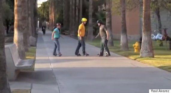 The 'Post Modern Skateboard' Is The Strangest Way To Get Around