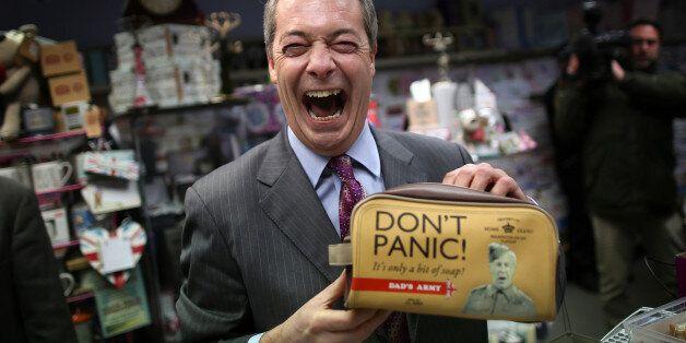 Nigel Farage's Smile Makes Him an Irresistible Political
