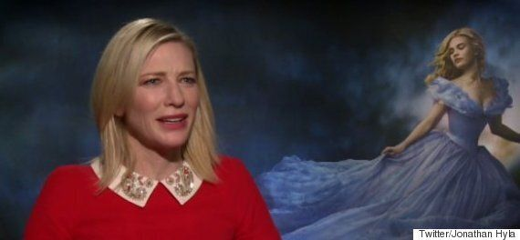 Cate Blanchett Really Wasn't Happy With This Interviewer's 'Cinderella' Questions