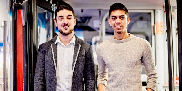 Young Entrepreneurs Of The Week: Two Men Travel The Country In A London Bus Helping New