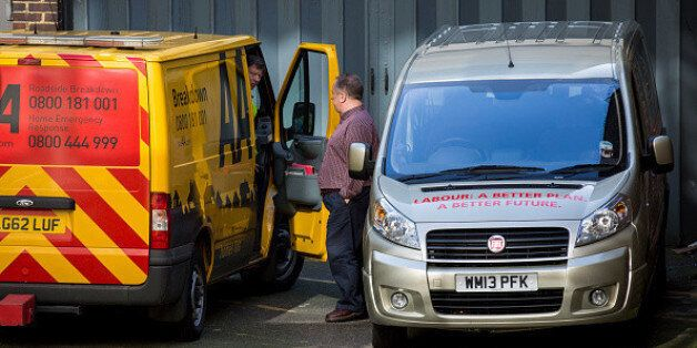 Labour Party's Election Battle Bus Breaks Down On First Day Of