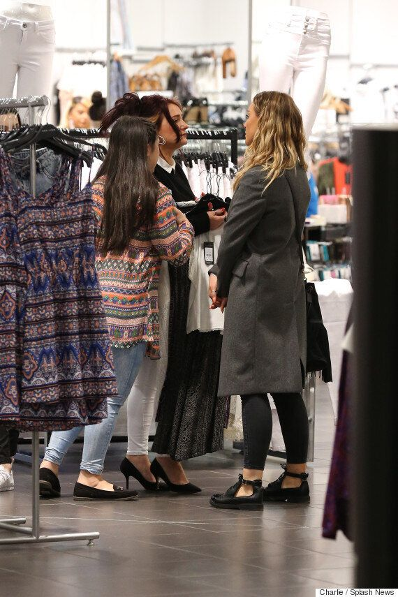 Perrie Edwards And Zayn Malik's Family Put On A United Front During London Shopping Trip