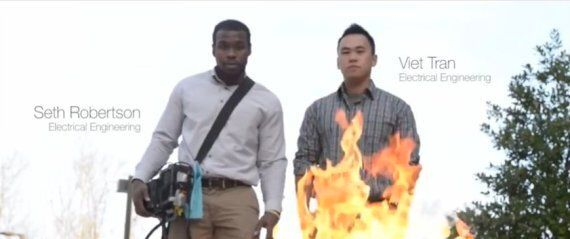 These Students From George Mason University Figured How To Put Fire Out With Sound